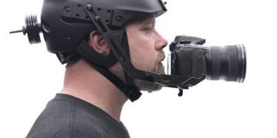 Glide Gear POV 100 Helmet Rig for DSLRs & Smartphones