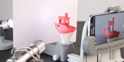 3D Printed Smartphone Photo Studio