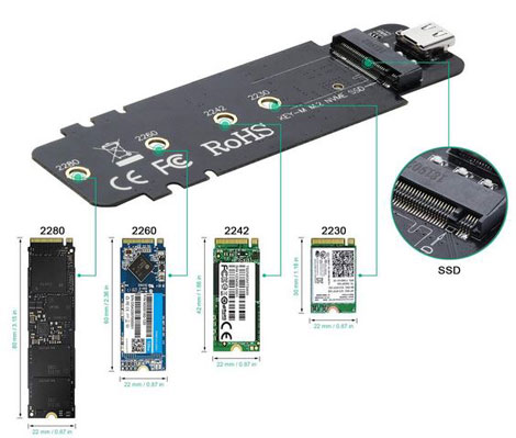 3 Must See Adapters / Enclosures for NVMe SSDs
