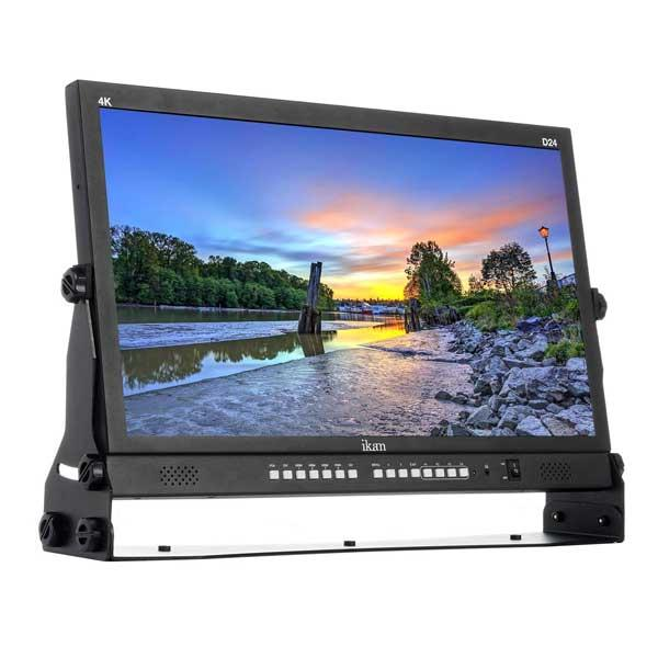 Ikan D24 23.8″ 4K Production Monitor with 4 HDMI Inputs
