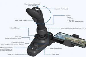 FT Aviator: One-handed DJI Drone Controller