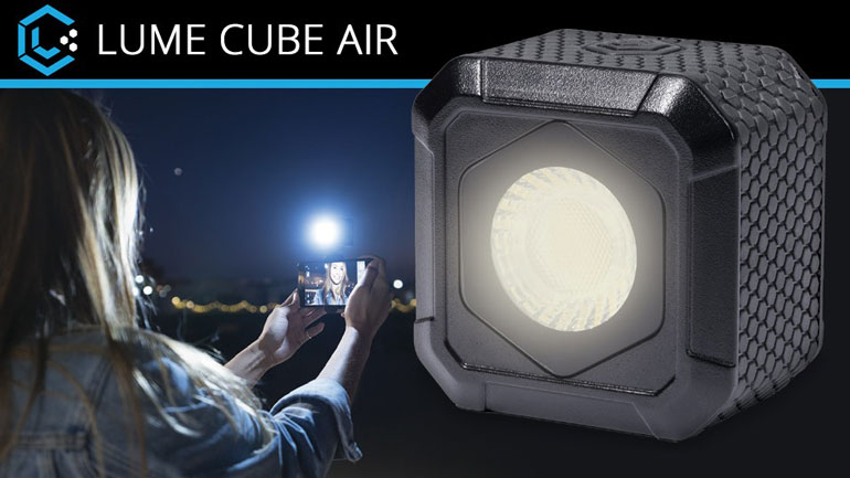 Lume Cube AIR LED Light with App Control