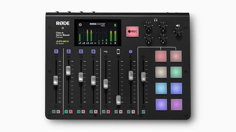 Rode RODECaster Pro for Podcast Production