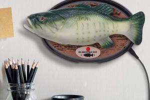 Big Mouth Billy Bass: Talking, Dancing Fish with Alexa