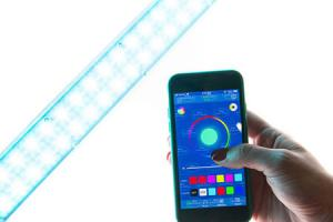 3 Smart LED Light Sticks & Wands for Photos & Videos
