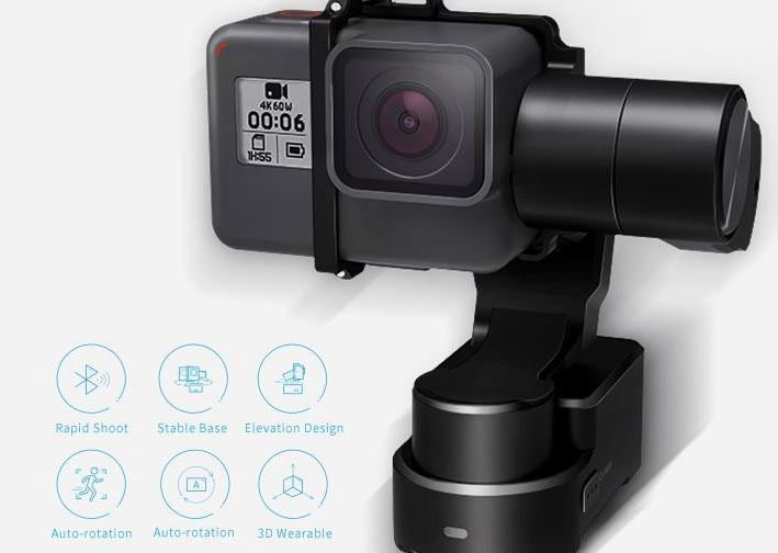 FeiyuTech WG2X 3-axis Wearable Gimbal for GoPro HERO
