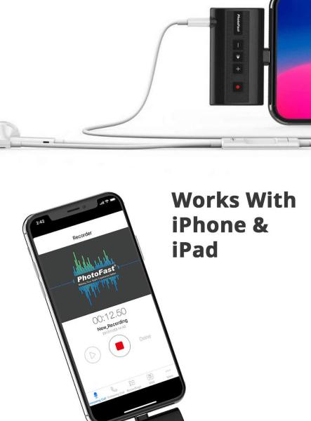 Photofast Call Recorder X for iPhone
