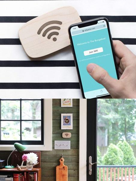 Ten One Design WiFi Porter: WiFi Sharing with a Tap