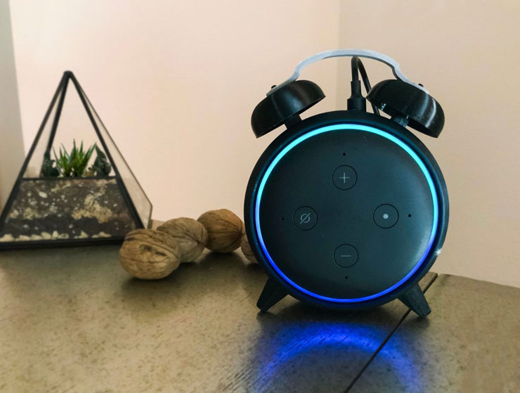 Echo Dot Gen 3 Alarm Clock Stand