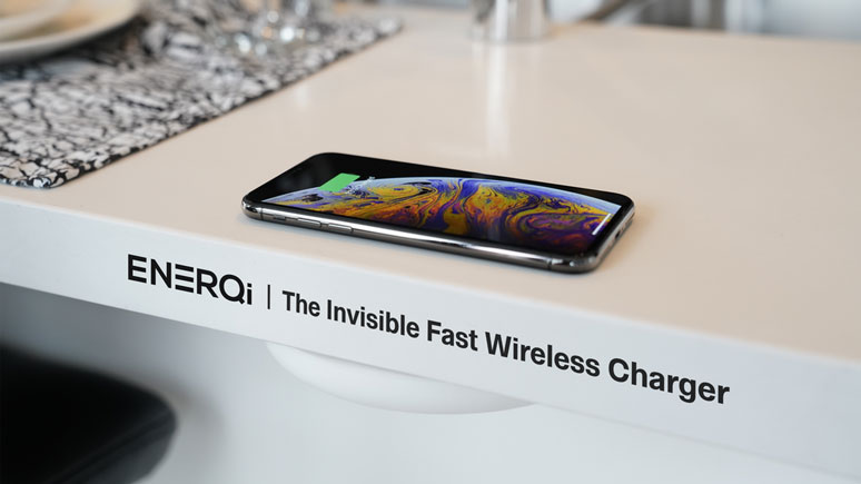 ENERQi: Under Desk Wireless Smartphone Charger