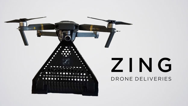 Zing: Drone Delivery System for DJI Mavic Drones