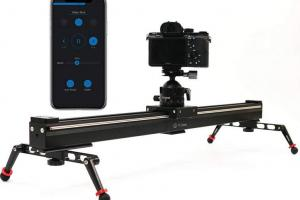 YC ONION Chips Motorized Slider with Bluetooth Control