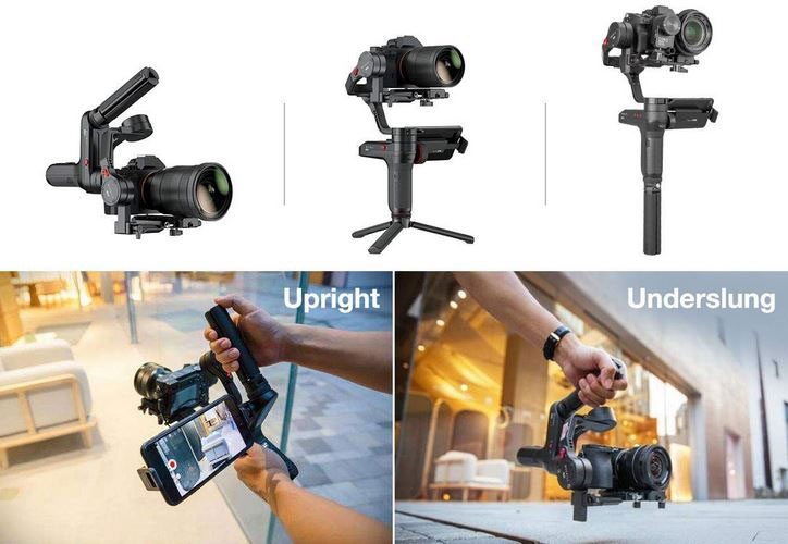 Zhiyun WEEBILL LAB 3-Axis Gimbal for GH5, a7, a6500 Cameras