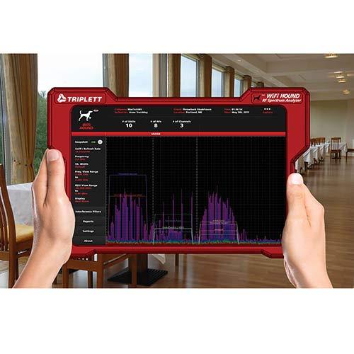 WiFi Hound: 2.4 & 5 GHz Spectrum Analyzer