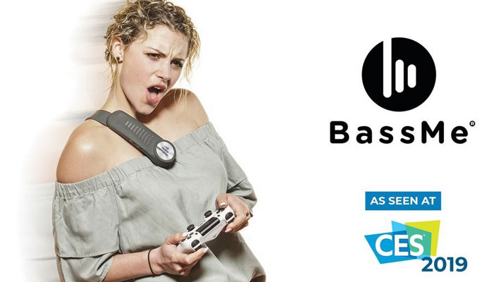 BassMe Smart Wearable Subwoofer