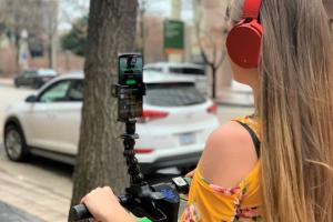 Scooty: Smartphone Holder for Scooters