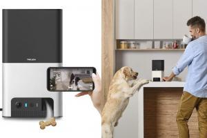 Petcube Bites 2 Smart Pet Treat Camera with Alexa