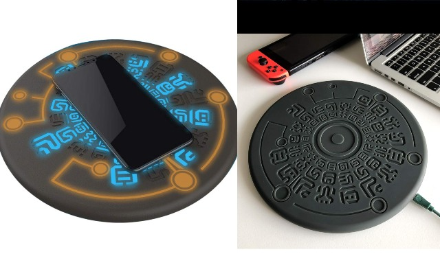 Zelda Magic Circle Wireless Charger for Smartphones