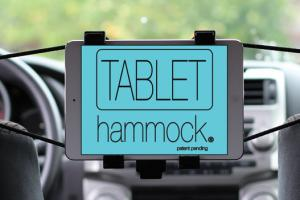 Tablet Hammock – Suspended Car Tablet Mount