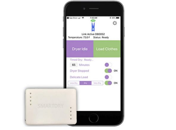 SmartDry: App Smart Laundry Sensor