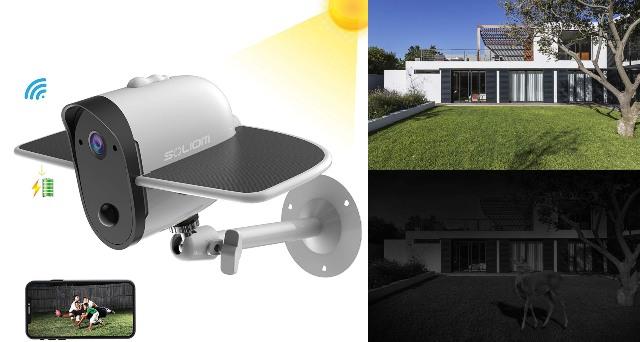 SOLIOM S60 Solar Powered Camera