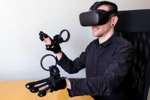BeBop Sensors Forte Data Haptic Glove for Oculus Quest