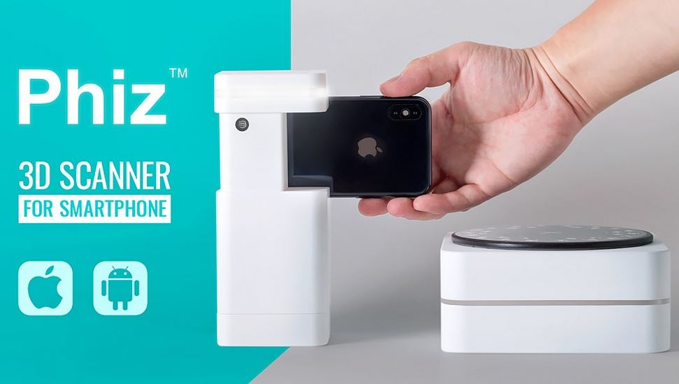 Phiz Turns Your Smartphone Into a 3D Scanner