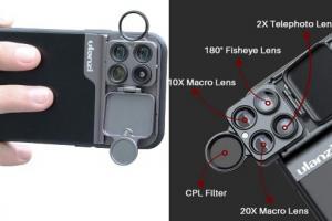 ULANZI Multi-Lens iPhone 11 Case