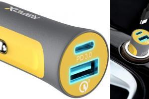 X2P 30W USB-C PD Dual Car Charger