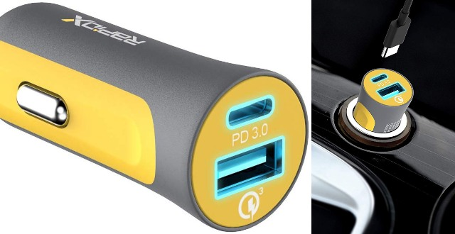 X2P 30W USB-C PD Dual Car Charger