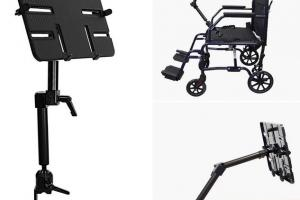 3 Handy iPad Wheelchair Mounts