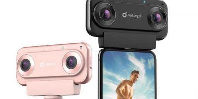 VIEWPT VR180 Nano: 4K VR Livestreaming Camera