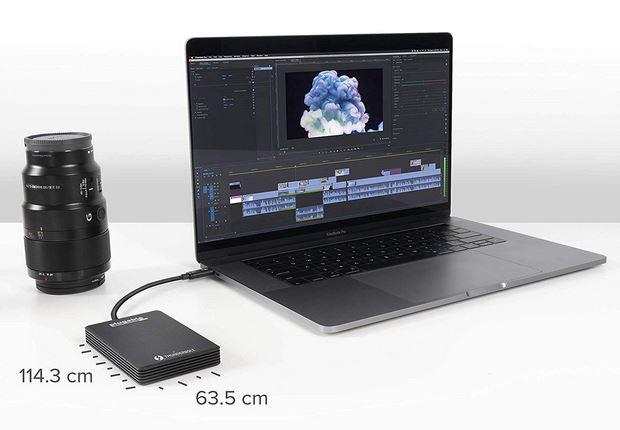 Plugable 1TB Thunderbolt 3 External SSD NVMe Drive