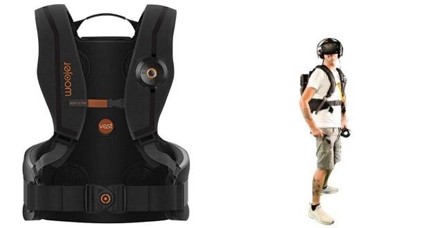 Woojer Vest Pro: Haptic Vest for Gaming, VR