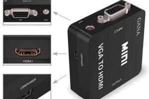 GANA VGA to HDMI Converter