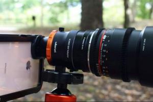 ULANZI DOF Adapter with Sony E Mount for iPhone