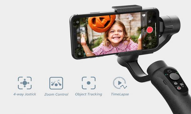 CINEPEER 3-Axis Gimbal for iPhone