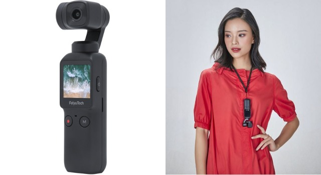 Feiyu Pocket Handheld 3-Axis Gimbal Stabilizer