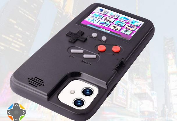 iPhone 11 Game Case with 36 Retro Games