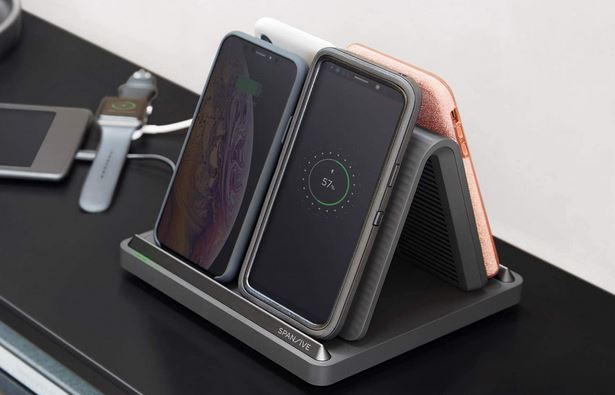 Spansive Multi-Device Wireless Charger