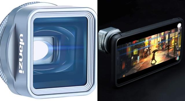 ULANZI 1.33XT Anamorphic Lens for iPhone 11 Pro