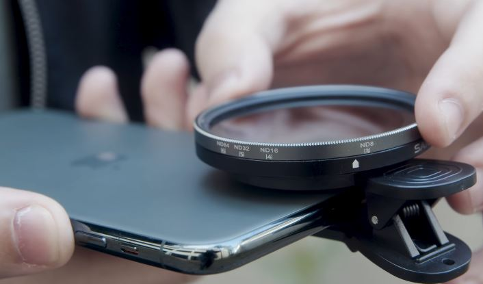 SANDMARC Motion Variable Filter for iPhone 11