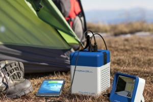 HydraCell Power Cube: Charge Your Phone with Saltwater