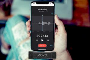 Movo Edge-DI Wireless Lavalier for iPhone