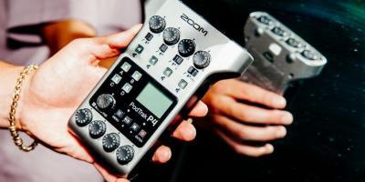 Zoom PodTrak P4 Multitrack Podcast Recorder