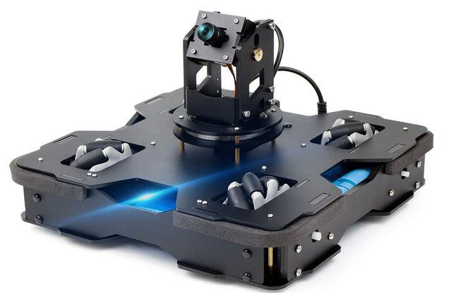 Raspblock: Raspberry Pi 4B AI Robot with Mecanum Wheels