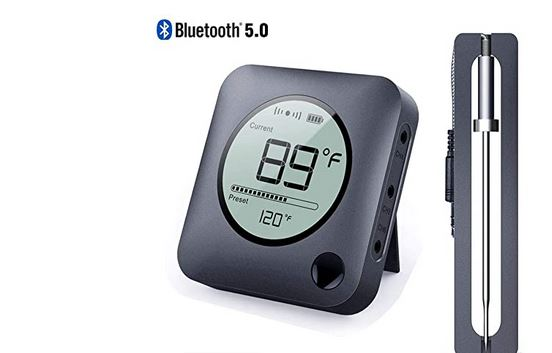 Neeqi Bluetooth 5.0 Meat Thermometer