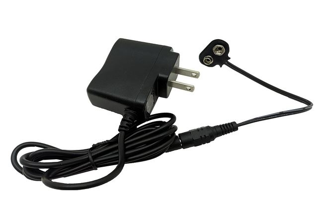 2 Convenient 9v Battery Adapters