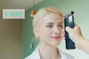ThermGo: Portable Infrared Thermometer for Smartphones