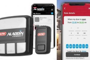 Genie Aladdin Connect Smart Garage Door Opener
